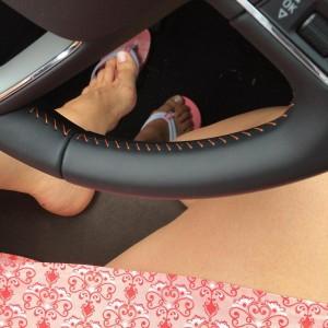 Heite passt die komische Ziernaht im Auto zu meinem Rockhellip