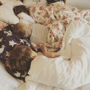 Schlafwarme Kinder