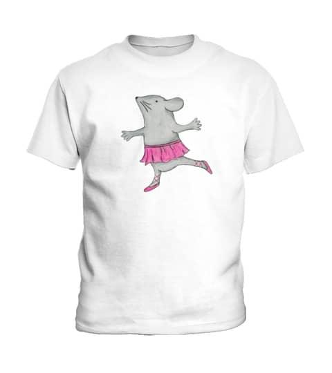 T-Shirt Ballerina Maus