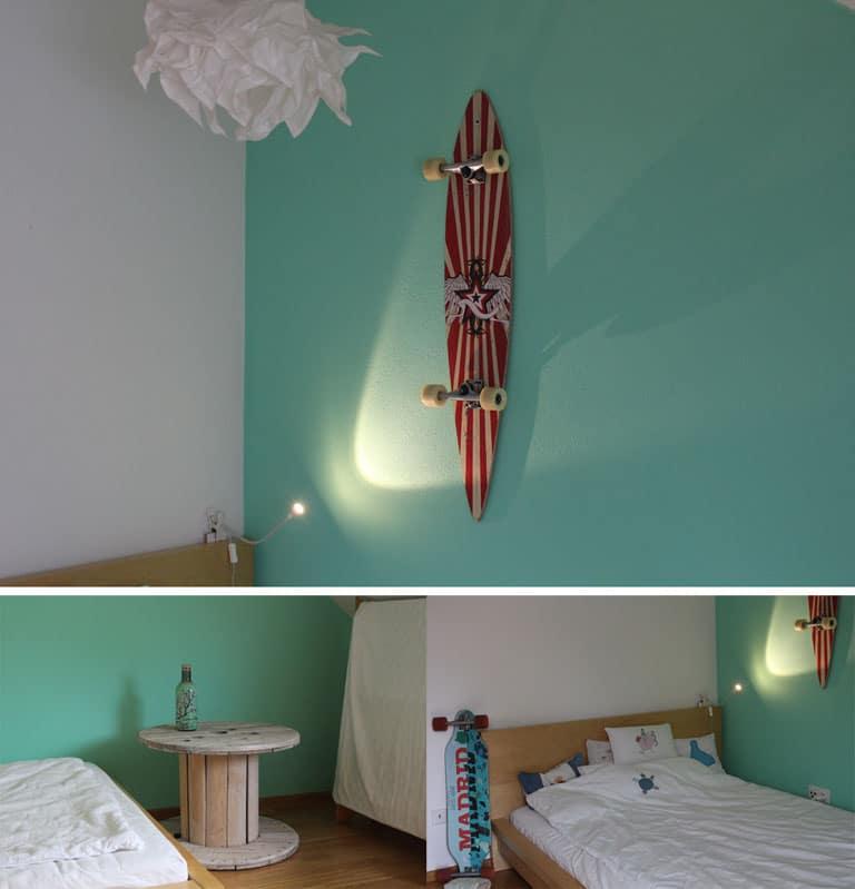 skaterzimmer art zu leben sophia wagner. Black Bedroom Furniture Sets. Home Design Ideas